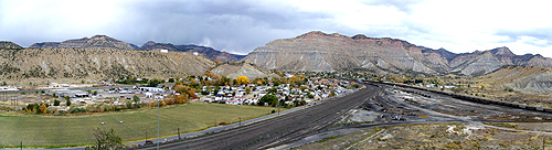 Helper, Utah Fall Panoramic
